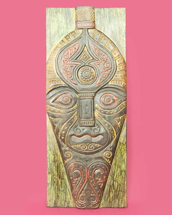 Hand carved decorative Ajour sculpted panel
