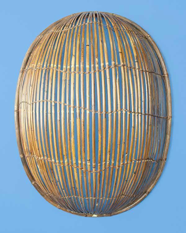 Bamboo Basket Wall Shade