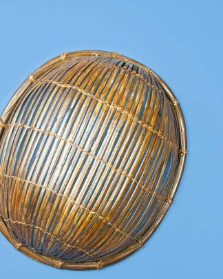 Bamboo Basket Wall Shade
