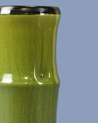 Ceramic Bamboo Tiki Mug