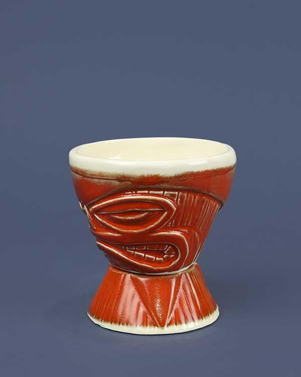 Ceramic Cosmic Blaze Tiki Mug