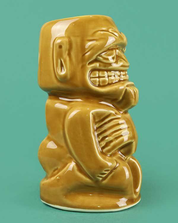 Ceramic digga digga doo Lola Lo tiki mug brown
