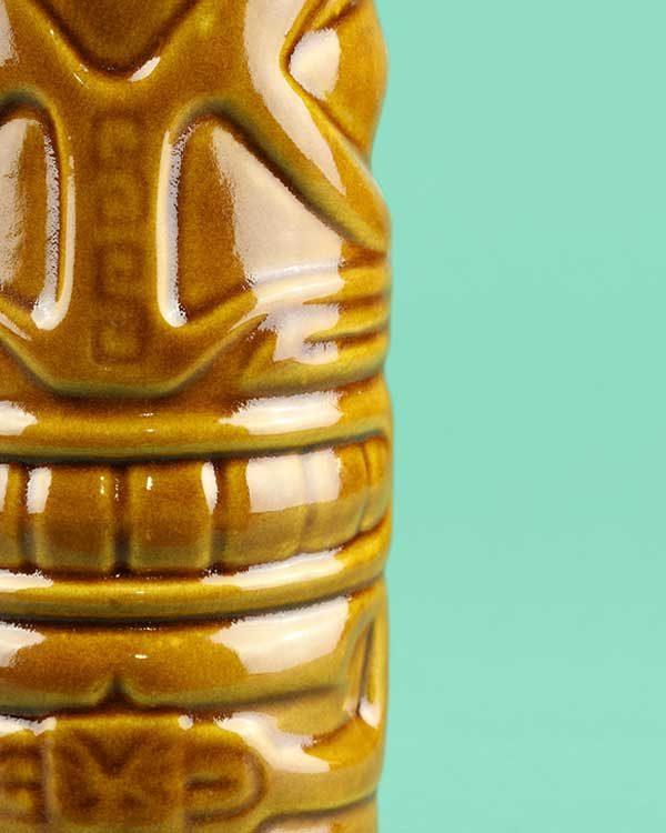 Ceramic Headhunter Tiki Mug