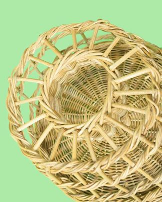 Rattan lobster pot