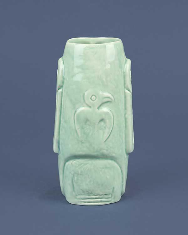 Moai Ceramic Tiki Mug