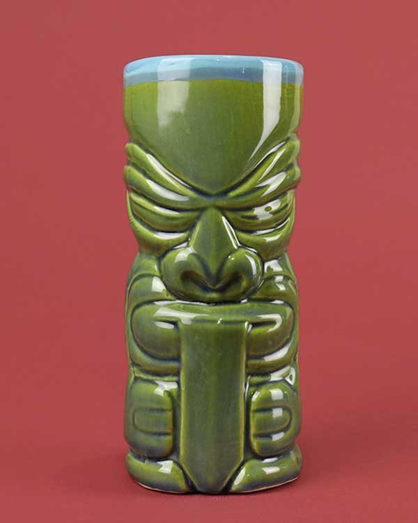 Ceramic Tiki Mug Mr Tonga Tounge