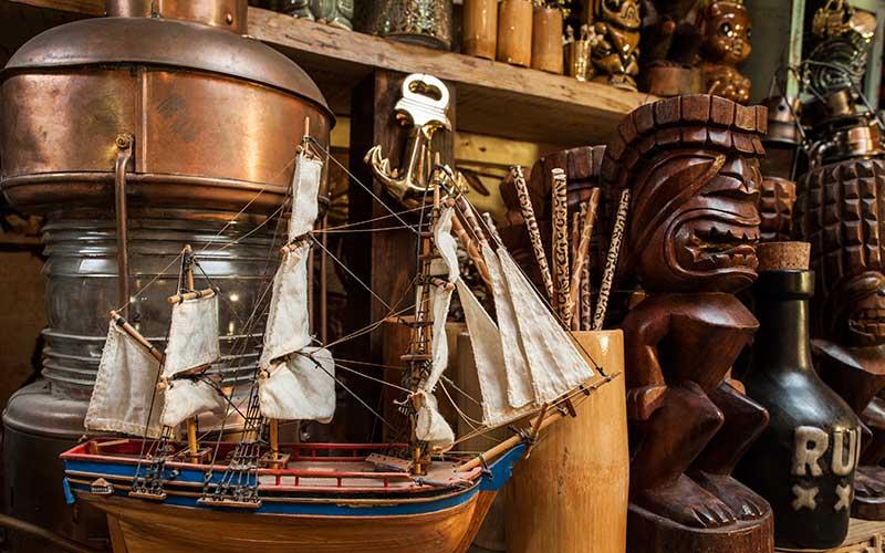 Nautical interiors shot