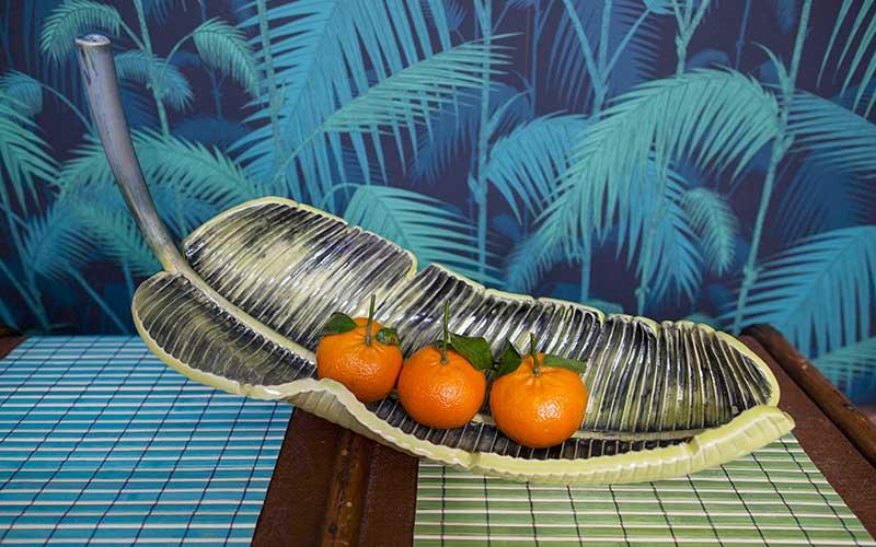 Mai'a Leaf Fruit Bowl