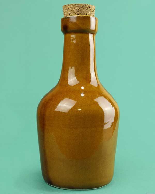 Ceramic Tiki Rum Bottle Decanter