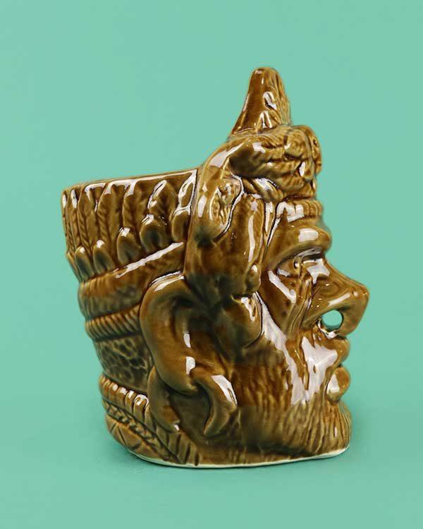 Witchdoctor Ceramic Tiki Mug