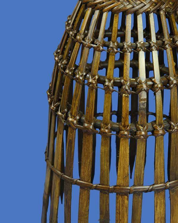 Decorative Bamboo Fish Trap