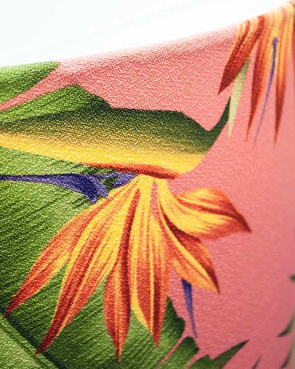 Tropical Print Lampshade Drum
