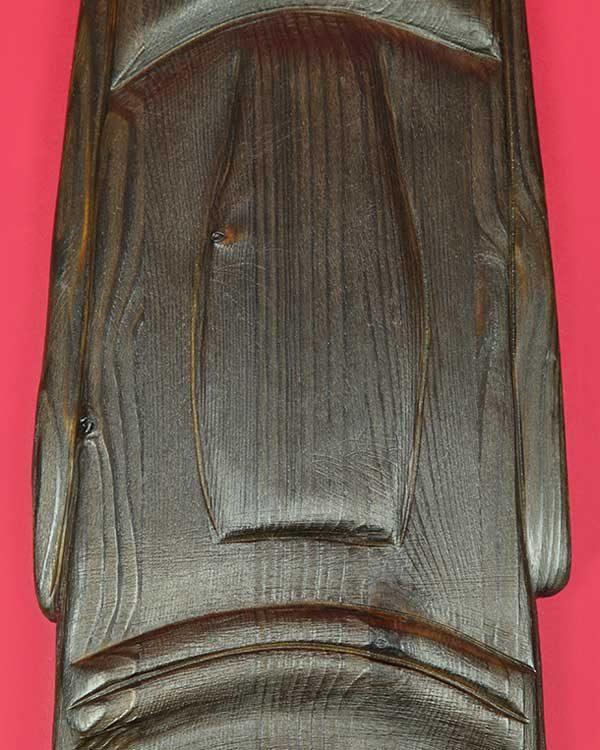 Carved Wooden Moai Set of 3 Masks