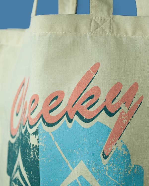 Cheeky Tiki Logo Tote Bag