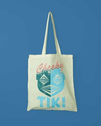Cheeky Tiki Logo Tote Bag
