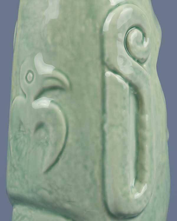 Ceramic Moai Tiki Mug