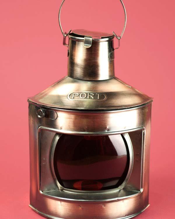 Decorative Ships lamp tea light holder - Port