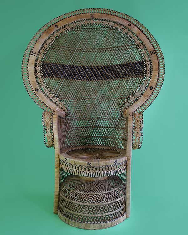 Rattan Princess Chair