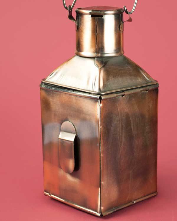 Decorative Ships lamp tea light holder - Starboard