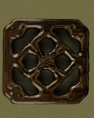 Chinese green ceramic tile