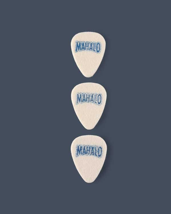 Set of 3 Mahalo plectrums