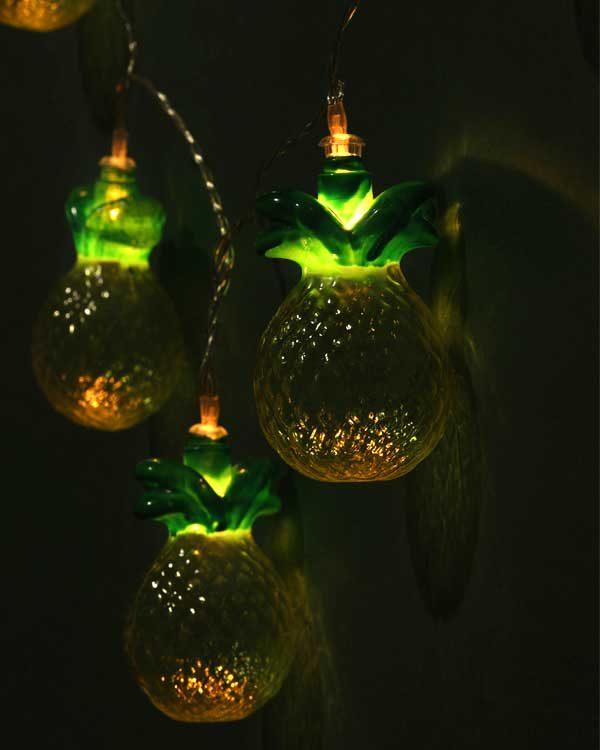 Pineapple fairy lights