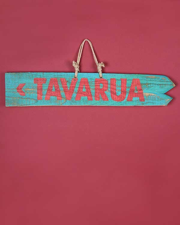 Hand Painted Beach Sign