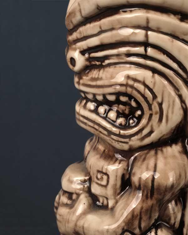 Ceramic Tiki Mug TheFloatingRumShak.com - Bone