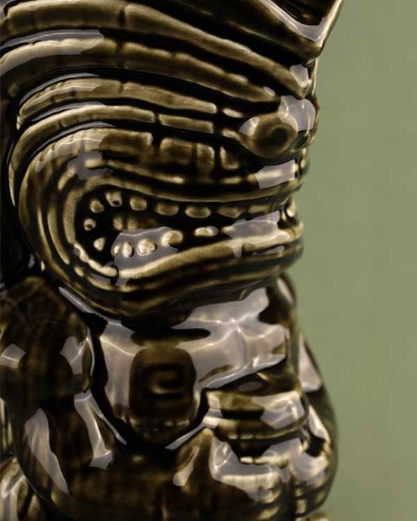 Ceramic Tiki Mug TheFloatingRumShak.com - Green
