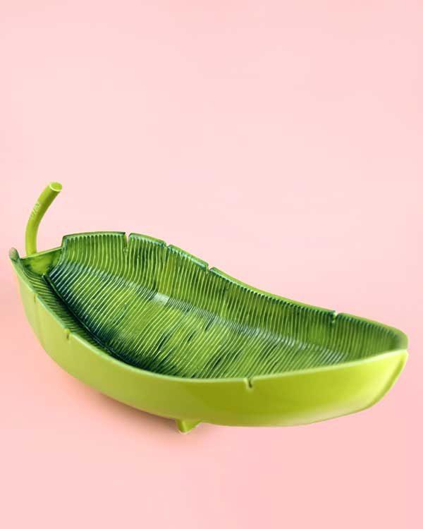 Tiki Banana Leaf Cocktail Sharer