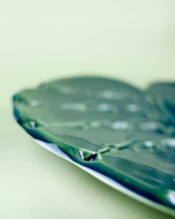 Monstera Leaf Plate