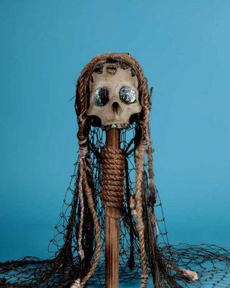 Oceanic Style Skull
