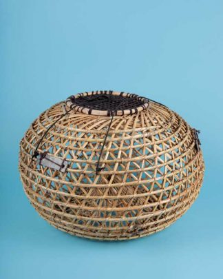Decorative rattan fish trap