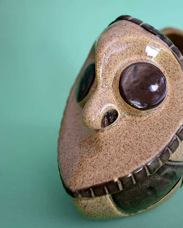 Ceramic Tiki Mug Sharer PNG style