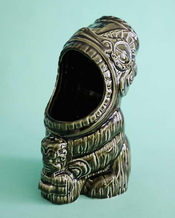 Ceramic Tiki mug cannibal