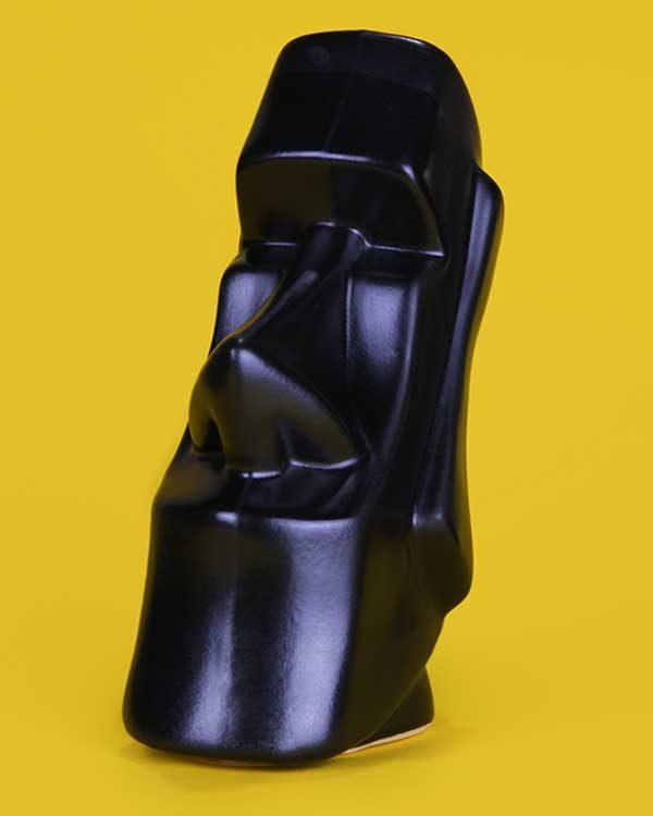 Ceramic tiki mug moai