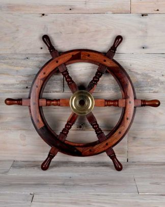 Decorative nautical shipswheel