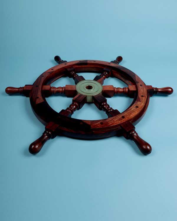 Decorative nautical shipswheel