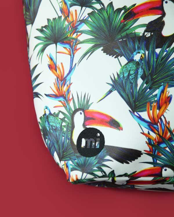 Tropical Print Holdall