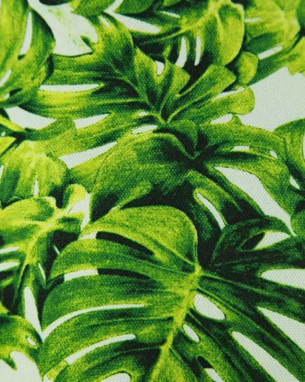 Tropical palm print back pack