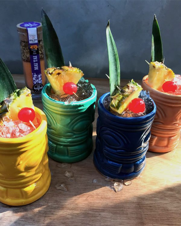 MAI TAI GIFT BOX SET OF 4 TIKI MUGS